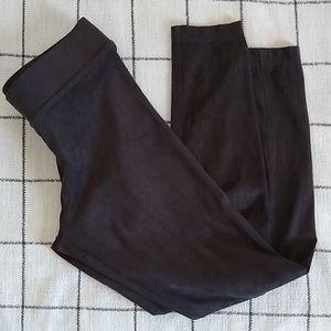 Ann Taylor Factory suede leggings